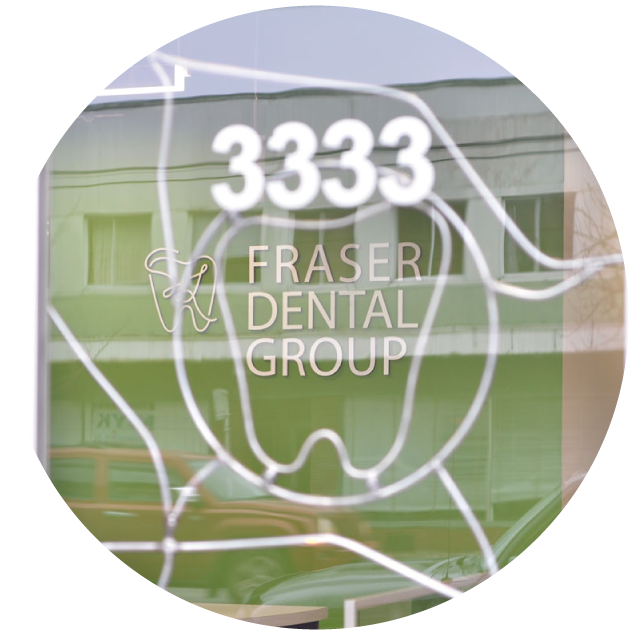Fraser Dental Office - Window