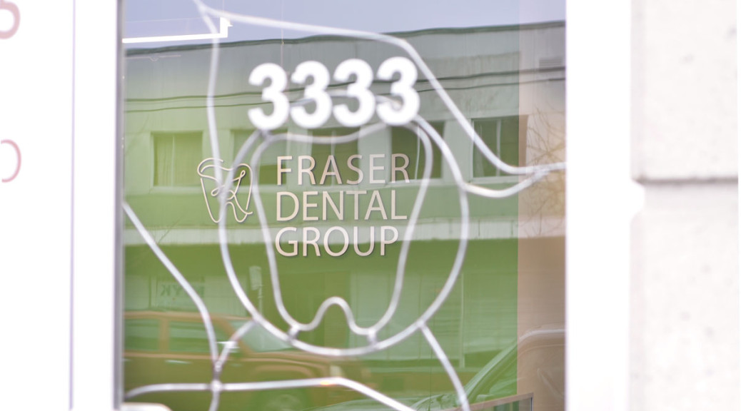 Fraser Dental Group - Office Window