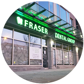 Fraser Dental Group - Front Door